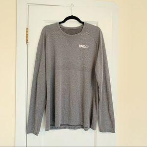 Lululemon Mens Grey Long sleeve BMC Shirt Size XL